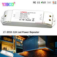 LED controller accept PWM control DC12-24V 12A*1CH LT-3010-12A Led Power Repeater(amplifier) for single color led strip