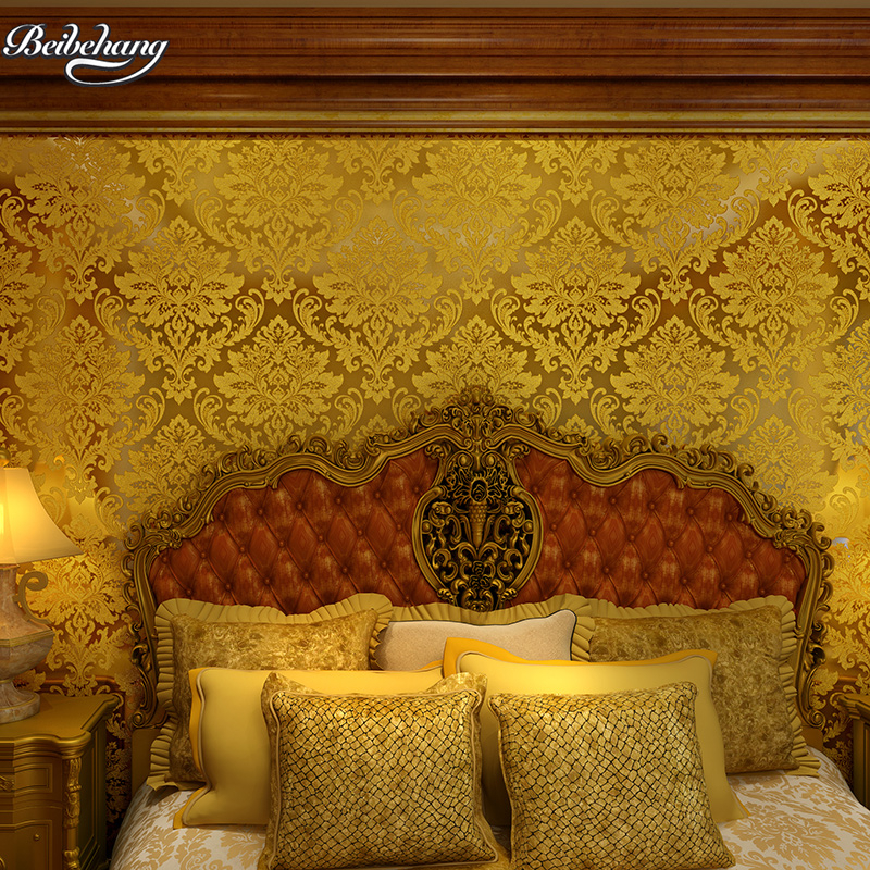 beibehang grade gold foil silver foil wall embossed wire drawing roof ceiling trough ceiling porch KTV club gold wallpaper hot gold silver gray gold foil mosaic waterproof wallpaper grid simulation golden tv setting wall roof ceiling pvc wall paper