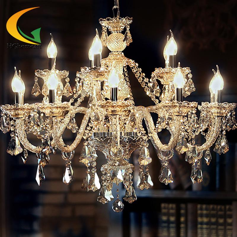 Kristall Kerze Lampen Moderne Kronleuchter Wohnzimmer Hngen Beleuchtung Schlafzimmer Decke Restaurant Fhrte