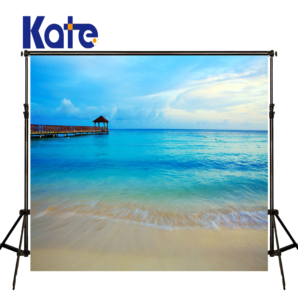 KATE 5x7ft Photography Background Summer Scenery Backdrop for Kids Sea Backdrops Children Blue Sky Backdrops for Photo Studio kate 5x7ft photo background scenery