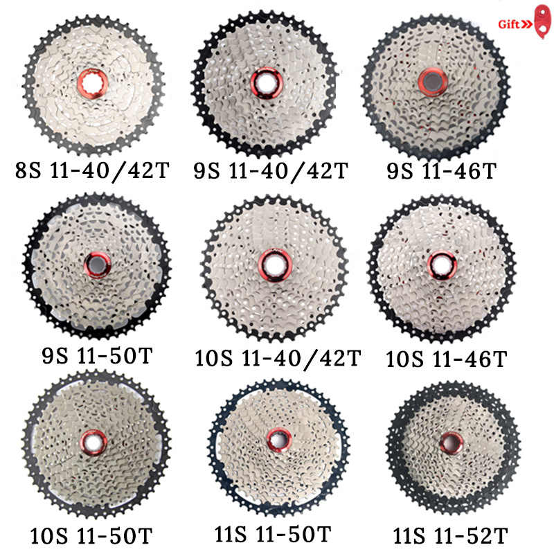 MTB велосипедная обгонная муфта 8 9 10 11 Скорость 40 42 46 50 т маховик для Shinamo XT SLX Sram Горный велосипед велосипедная кассета аксессуары