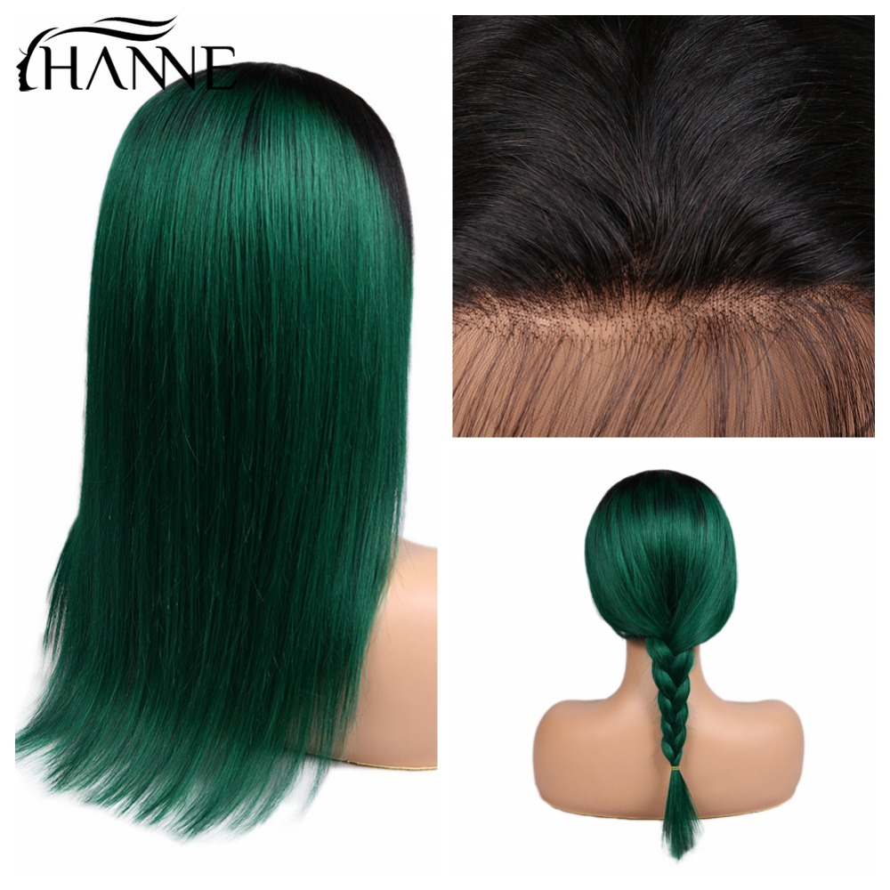 Straight Human Hair 13 4 Frontal Wigs With Baby Hair Pre Plucked Natural Hairline Brazilian Hair