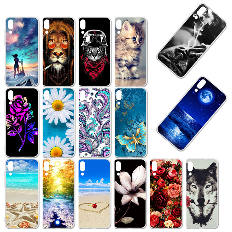 TaryTan Phone Case For UMIDIGI One Max Case Silicone Floral Painted Bumper For UMI DIGI One Pro Cover Soft TPU Back Fundas