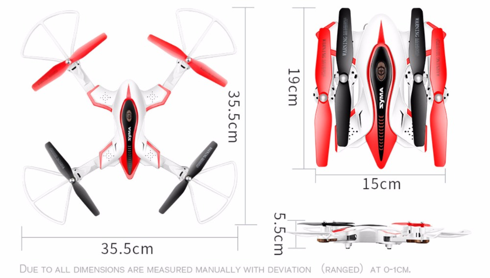 Folding SYMA X56/X56W Drone Radio Remote Control Quadcopter RC Helicopter With Camera Helicopter Foldable quad copter syma x56 rc drone 4ch remote control helicopter foldable quadcopter 2 4g hover without camera real time sharing headless toys