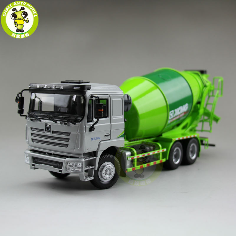 ФОТО 1/35 xcmg man schwing concrete mixing truck construction machinery diecast model toy hobby green