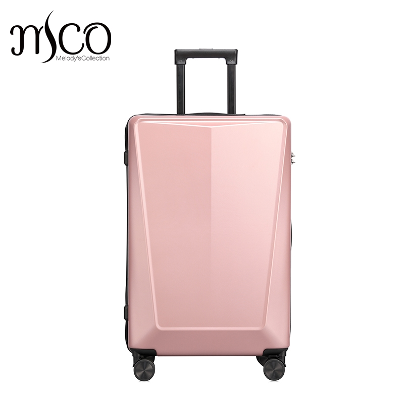 3D Solid 6 Classic color spinner TAS Alloy Trolley Suitcase Fashion Men  Large Travel Luggage Rolling Bag Women PC Boarding bag-in Rolling Luggage  from ... 2762608e7