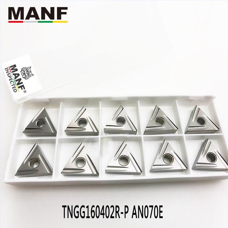 MANF TNGG160402R/L Lathe Cutter External Turning Tool Lathe Tools Cermet Inserts Fine Car Blade For Steel S20R-MTFNR16 MTGNR2020