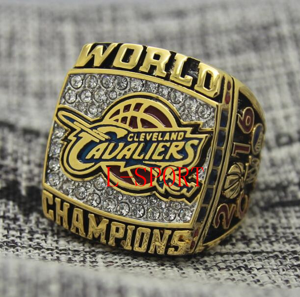 2015 2016 Cleveland Cavaliers Basketball Championship Ring MVP LeBron JAMES Replica Size 8 14 US Best Gift For Fans Collection In Rings From Jewelry
