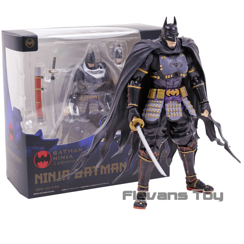 SHF S.H.Figuarts DC Comics Ninja Batman PVC Action Figure Toy Brinquedos Figurals Model Gift