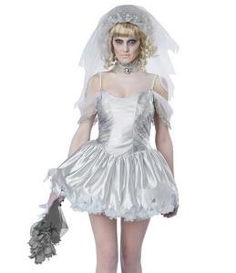 Image 3 - TPRPCO Women Vampire Zombie Dress Decadent Dark Ghost Bride Styling sexy Costumes Halloween costumes Cosplay for women NL147