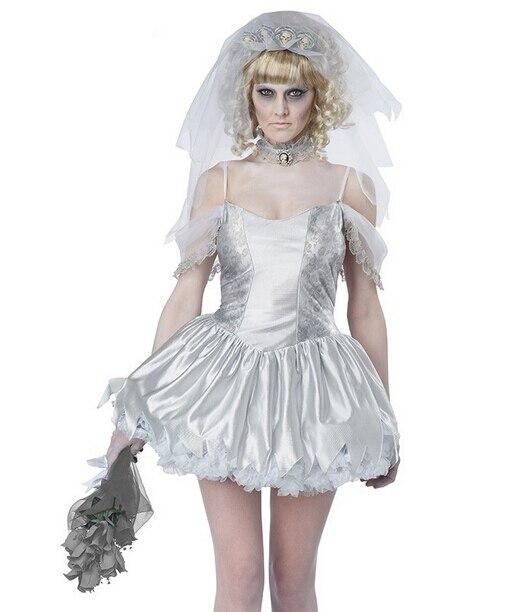 Image 3 - TPRPCO женское платье вампира зомби декадент темный призрак невесты стиль сексуальные костюмы на Хэллоуин косплей для женщин NL147-in Праздничные костюмы from Новый и особенный в использовании