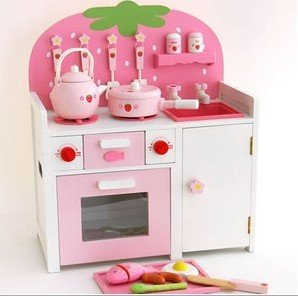 svr pink lovely strawberry toy furniture kitchen play