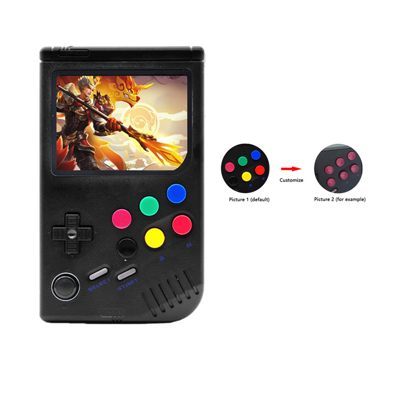 New 2 0 Retro LCL-Pi Raspberry Pi For Game Boy Handheld Game Console