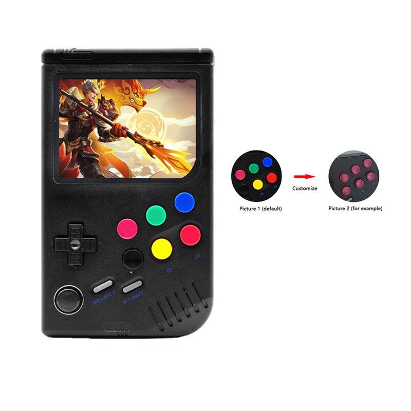 Nouveau 2.0 rétro lcl-pi Raspberry Pi pour jeu garçon Console de jeu portable jeu portable classique lecteur de jeu vidéo Raspberry Pi 3B/A +