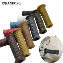 Motorcycle Handlebar Grip Vintage Cafe Racer 1 22/25mm Handle Grips for HARLEY SPORTSTER IRON 883 1200 TRIUMPH