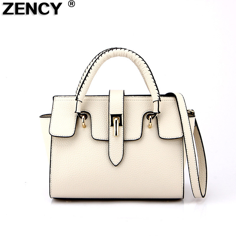 2018 New Fashion Top Quality Brand Luxury Famous Soft Genuine Leather Women Designer Handbag Tote Shoulder Messenger Bag Satchel fashion casual michael handbag luxury louis women messenger bag famous brand designer leather crossbody classic bolsas femininas