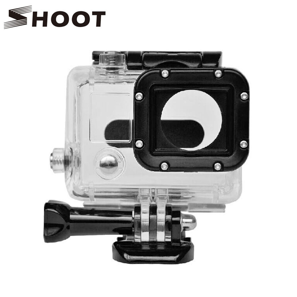 shoot 40m diving waterproof case for gopro hero 3 black edition camera for go pro hero 3 silver. Black Bedroom Furniture Sets. Home Design Ideas