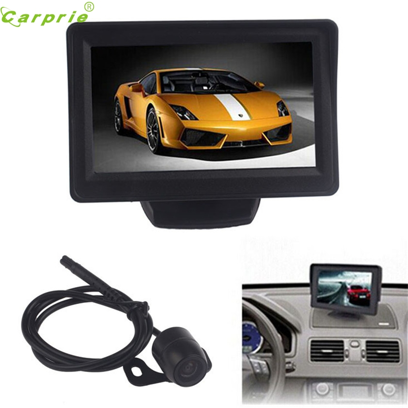 High Quality 4 3Inch Car TFT LCD Monitor Mirror Reverse Rear View Backup CMOS font b