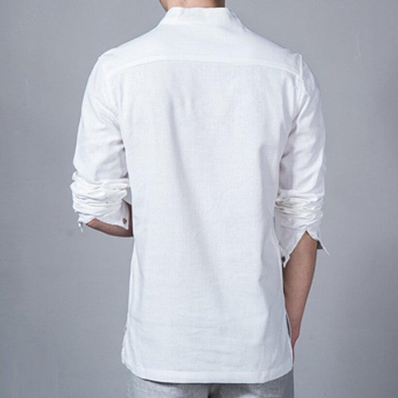 Men's Linen Long Sleeve T-Shirt 3