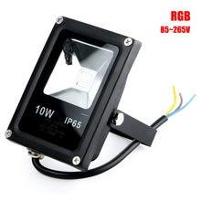 Hot Selling 10W Waterproof IP65 Outdoor  Flat LED Light Landscape Lighting 12V/85-265V