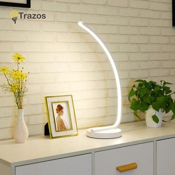 Schreibtisch Lampe Touch AUF/OFF Schalter Dimmen Tisch Licht LED Nacht Licht Aluminium Schlafzimmer Neben Dekorative Beleuchtung Lese Licht