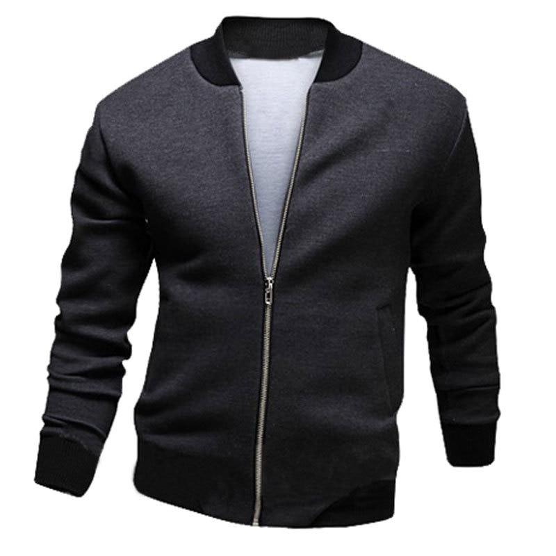 New Jacket Men 2015 Fashion Design Mens Slim Zipper ...
