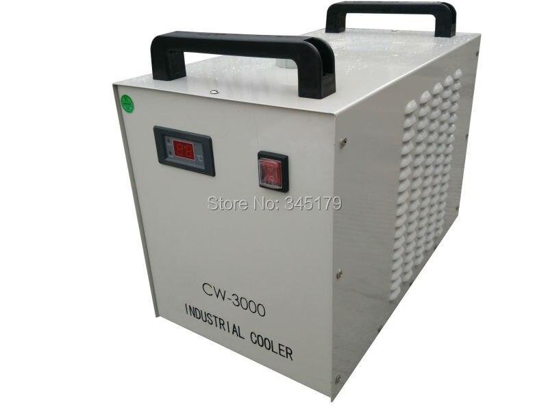Refroidisseur d'eau CW3000 pour Laser Co2 graver la Machine. Pour broche CNC pour tube Laser 60 w 80 w 100 w. 220 v Tension