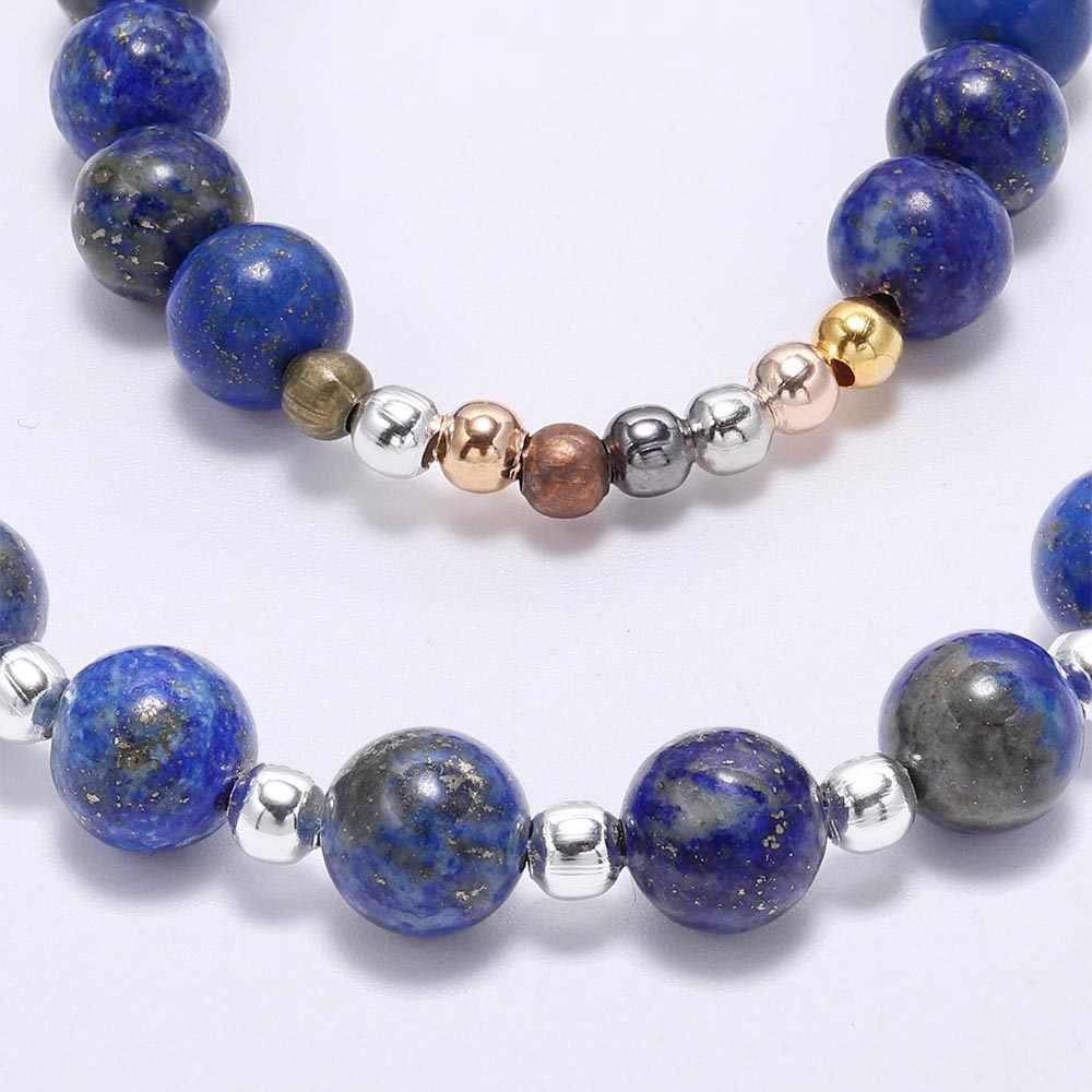 500 Buah/Banyak 2 2.5 3 4 Mm Perak Emas Bulat Pengatur Jarak Manik-manik Halus Bola Akhir Benih Beads untuk Perhiasan Membuat temuan Aksesoris Pemasok