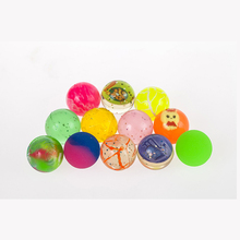 2016 Newest 30 Pieces Mixed 30MM Rubber Bouncing Ball Outdoor Sports Toys For Baby Fun Random Color Unisex Enjoyable Non-toxic