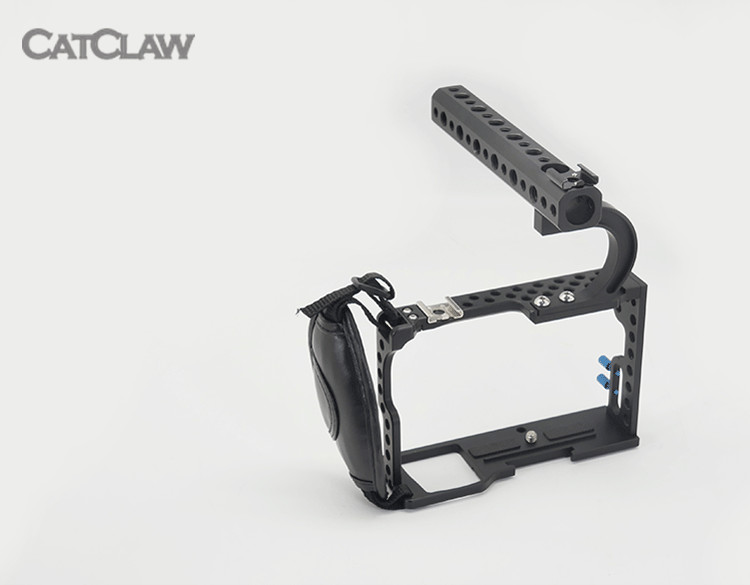 F18637/8 New Aluminum Protection Boarder Protective Housing Case Cage Kit Special for Sony a6000 a6300 Camera Kit Mount f18637 8 fat cat new aluminum protection boarder protective housing case cage kit special for sony a6000 a6300 camera kit mount