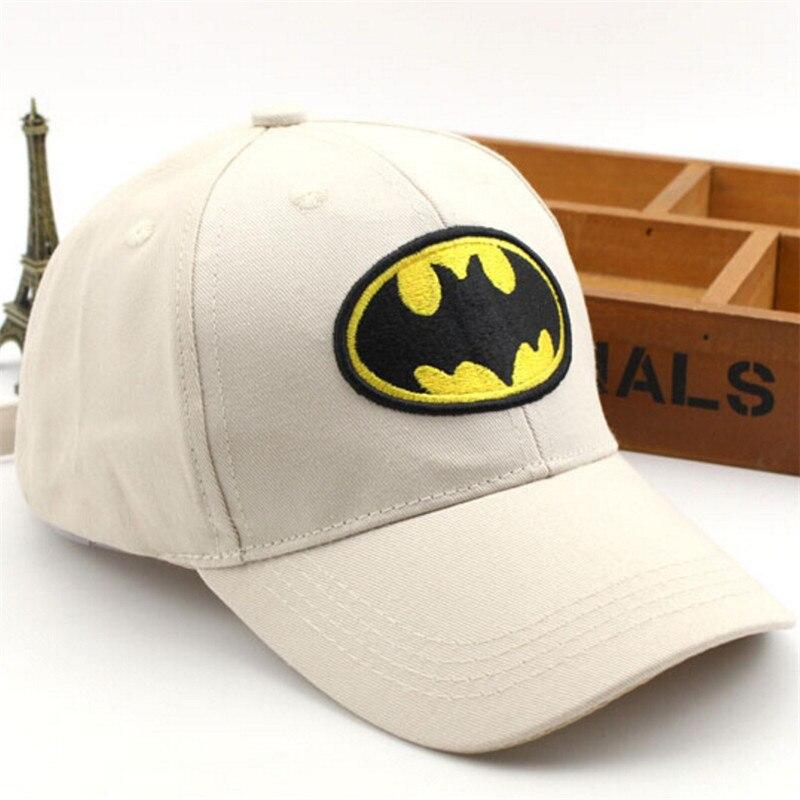 Cartoon Batman Kids Boys Girls Baseball Caps Snapback Cap For Kids Outerdoor Sunhat Casual Childrens Hat gorras planas hip hop