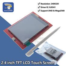 2 4 #8222 2 4 cal TFT 240*320 moduł ekranu lcd 5 V 3 3 V do arduino uno R3 Mega2560 pokładzie wsparcie STM32 C51 karta micro sd ILI9341 tanie tanio sincere promise 2 4 inch TFT