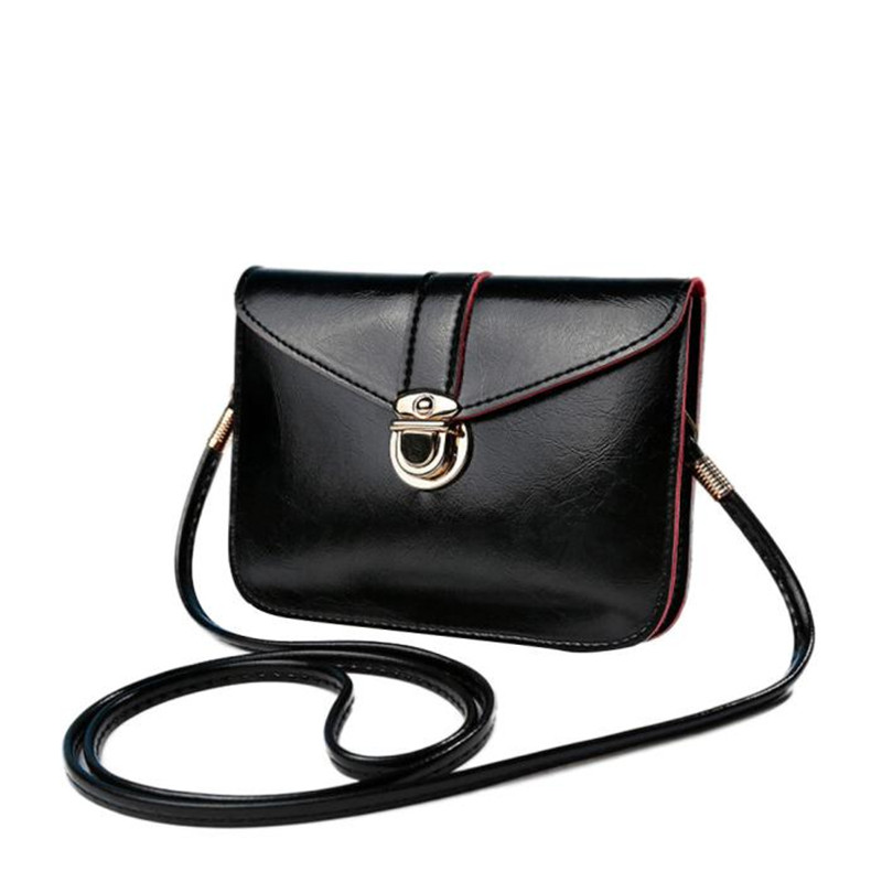 Hotsale Vintage Women Bag Zero Purse PU Leather handbags Single Shoulder Messenger Phone Bags Small Hasp Coin Purse bolsos mujer