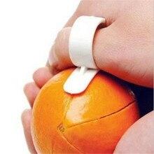 2 шт./лот инструменты для приготовления пищи Парер Тип пальца открытый оранжевый овощечистка машина оранжевый прибор инструменты Креативные кухонные аксессуары de cozinha
