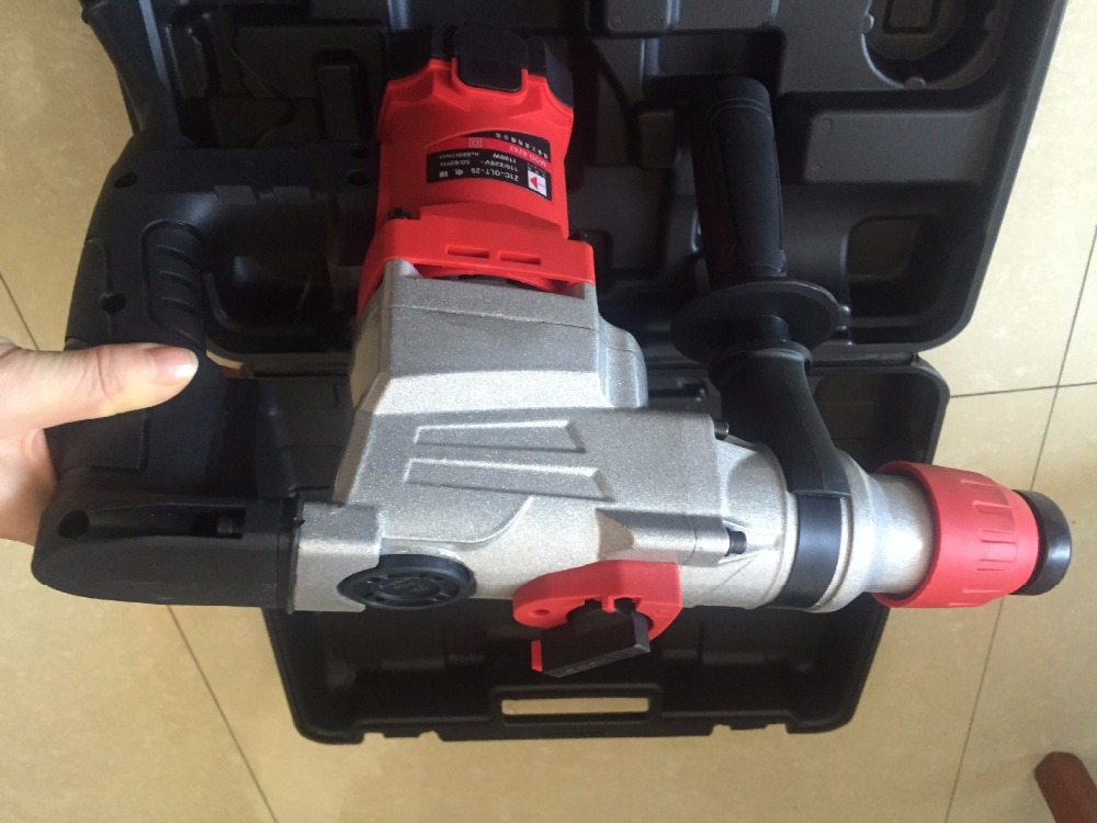 1100w electrical breaker hammer demolition for wood steel hole for cement broken at good price цена