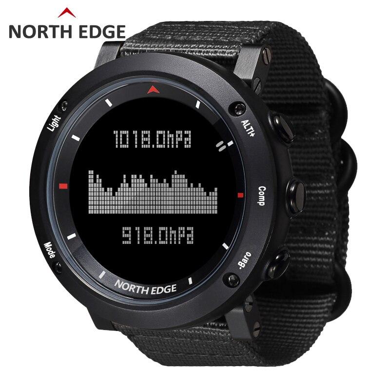 NORD BORD Hommes de sport montre digitale Heures de Course De Natation montre de sport altimètre baromètre Boussole Thermomètre Météo hommes - 5