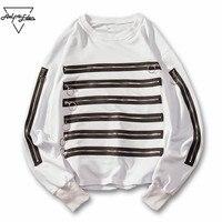 Aelfric Eden Толстовка Для мужчин пуловер Кофты multi молния хип-хоп толстовка дропшиппинг Повседневное Осень длинным рукавом Уличная kt32