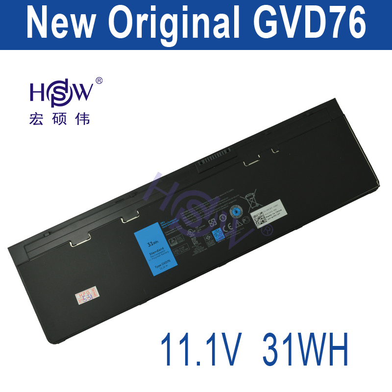 HSW 11.1V 31WH genius  laptop battery FOR DELL Latitude 12 7000-E7240 E7240  Latitude E7250 Latitude E7440  bateria jiazijia x8vwf laptop battery 11 1v 97wh for dell latitude 14 7404 latitude e5404 vcwgn ygv51 453 bbbe x8vwf