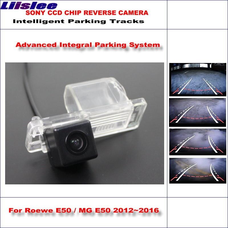 Liislee pour Roewe E50/MG E50 2012 ~ 2016 voies de stationnement intelligentes caméra arrière sauvegarde inverse/NTSC RCA AUX HD CCD
