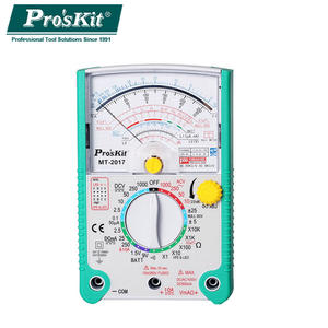 Analog Multimeter Protective-Function Current-Resistance Voltage DC Pro'skit Ohm AC