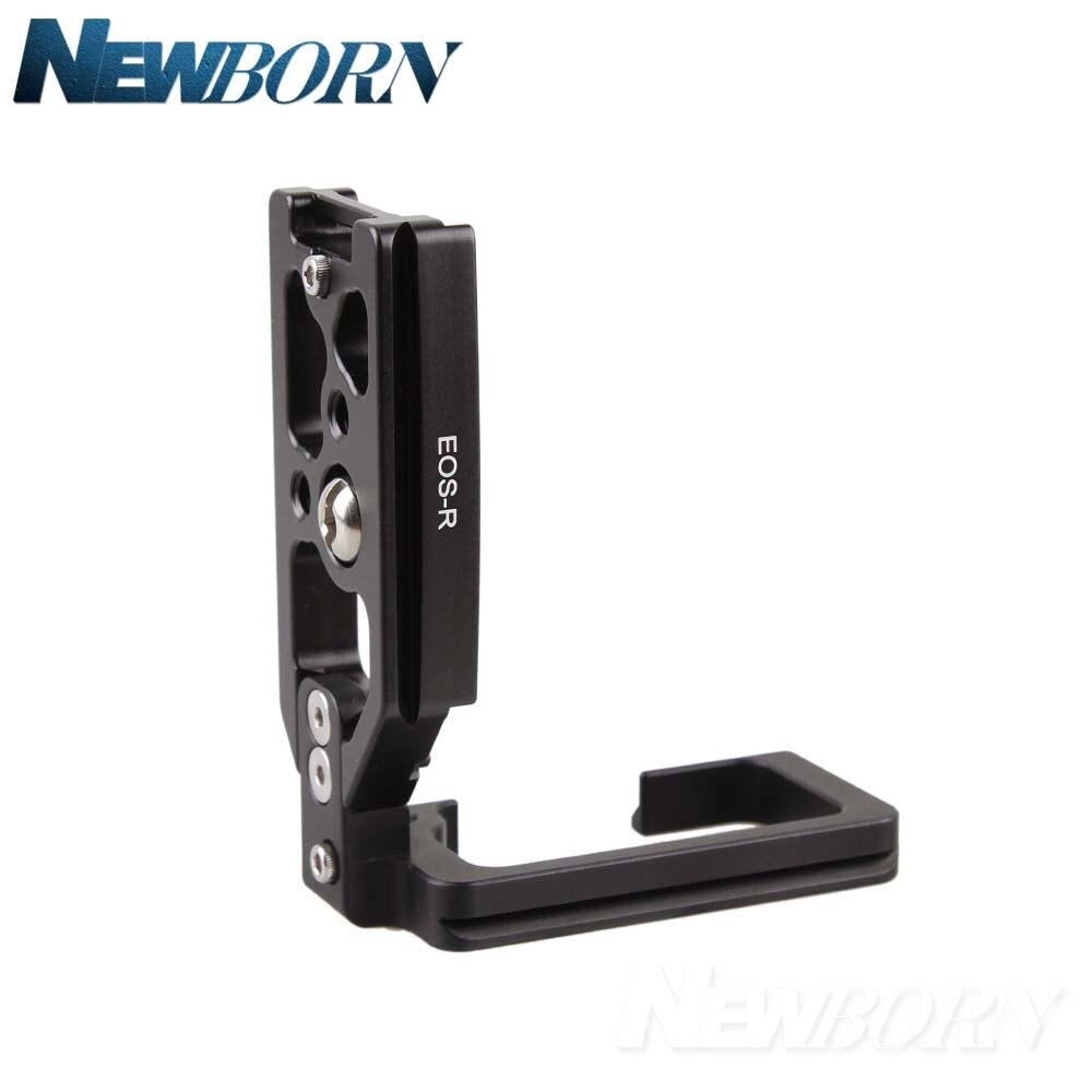 Nouveau support Vertical de Type 1/4 L pour trépied Base de plaque de fixation rapide pour appareil photo Canon EOS R - 3