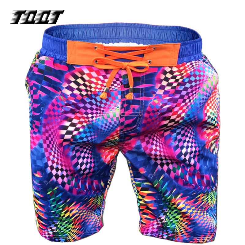 TQQT Shorts Mens Rainbow Boardshort Colourful Shorts Elastic Wasit MenS Boardshorts Starry Sky Print Homens Short Men 7P0103