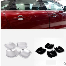 For Jaguar F-Pace f pace X761 2016 Car-Styling ABS Chrome Exterior Door Bowl Cover Trim Accessories Set of 4pcs