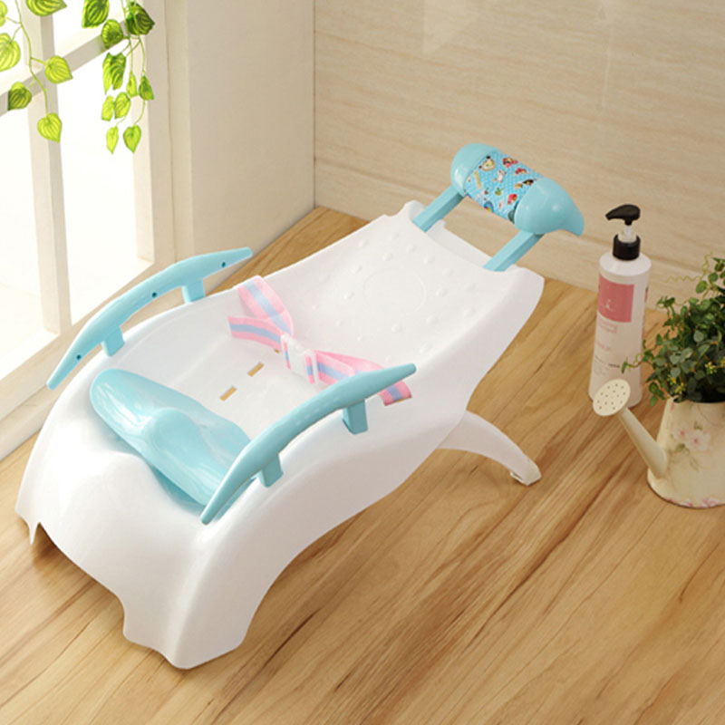 Eco-friendly Without Musical Baby Shower Chair Plastic Shampoo Chair