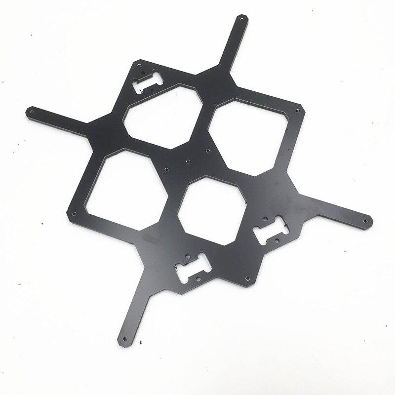 Prusa I3 MK3 3D Printer  Y Carriage 6MM Thickness Aluminum Composite Melamine Heated Plate DIY MK3 I3 3D Printer Accessory