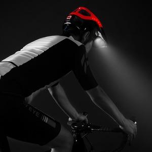 Image 5 - ROCKBROS إضاءة دراجة هوائية خوذة Intergrally مصبوب دراجة كشافات الدراجات خوذة الرياضة سلامة الرجال النساء الجبلية خوذة الدراجة البخارية المعدات