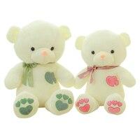 1pcs 45cm 60cm Birthday Valentines Gift Bow Tie Teddy Bear Wedding Plush Toy Lovely Baby Toys