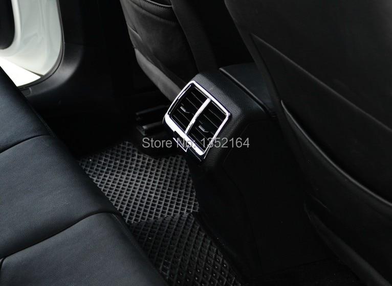 Авто инерционные аксессуары, заднее вентиляционное отверстие Впускной отделка Наклейка для Volkswagen vw golf 7, автомобильный Стайлинг