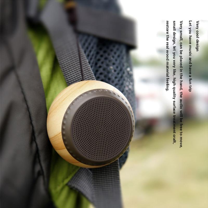 Mini Bluetooth Speaker Wireless Portable with Lanyard Loudsp