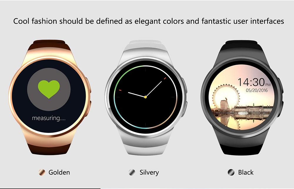 4montre intelligente Bluetooth Smart Watch Android IOS